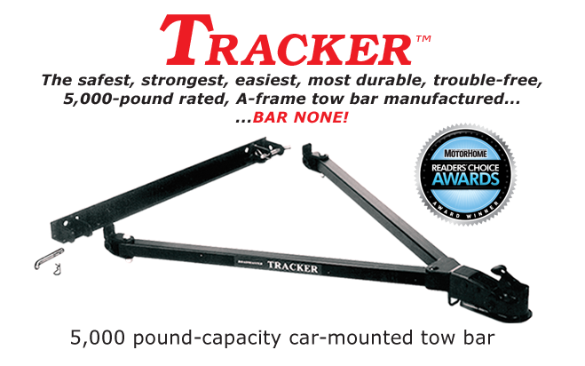 Tracker tow bar by Roadmaster