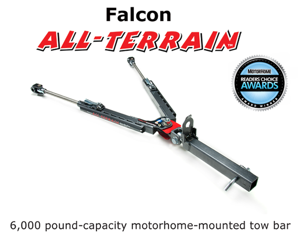 Falcon All terrain tow bar by Roadmaster