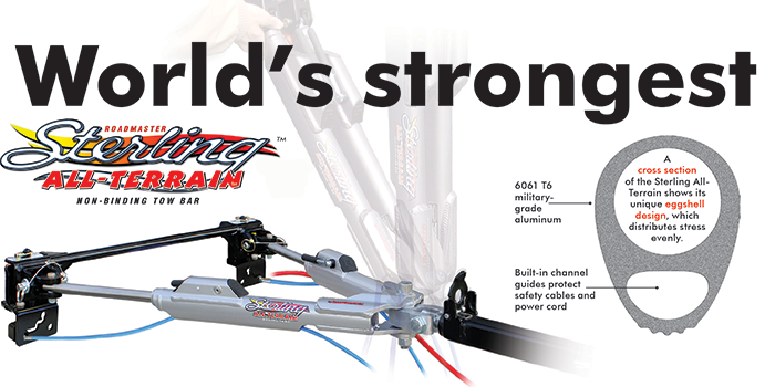 Sterling all terrain tow bar by Roadmaster