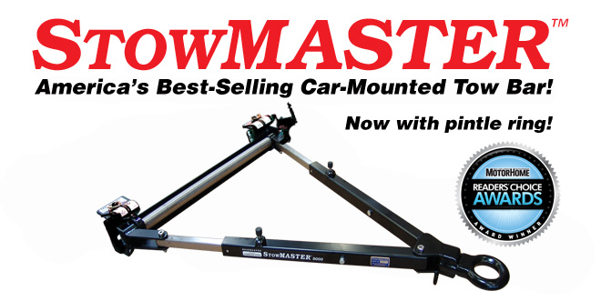 StowMaster tow bar by Roadmaster